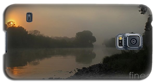 Foggy Morning Red River Of The North Galaxy S5 Case