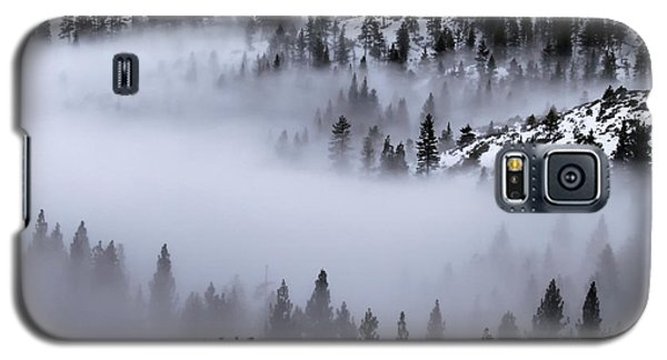 Foggy Mountain Pass Galaxy S5 Case