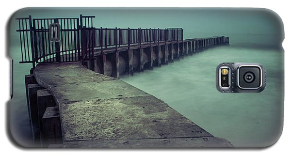 Foggy Night At Toes Beach Galaxy S5 Case