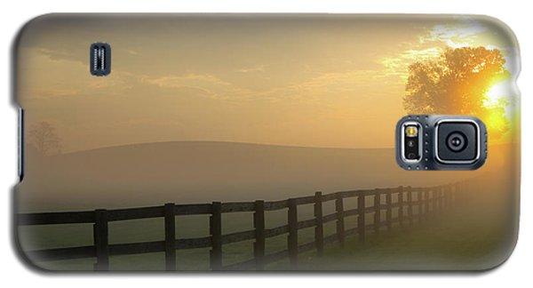 Foggy Pasture Sunrise Galaxy S5 Case