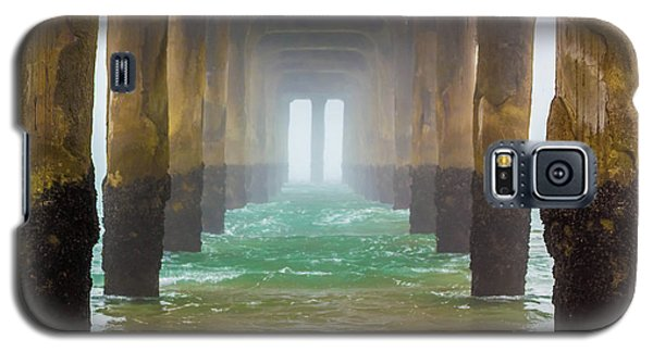 Galaxy S5 Case featuring the photograph Coastal Fog by April Reppucci