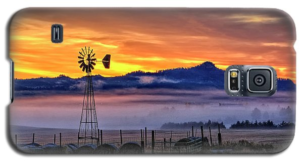 Foggy Spearfish Sunrise Galaxy S5 Case