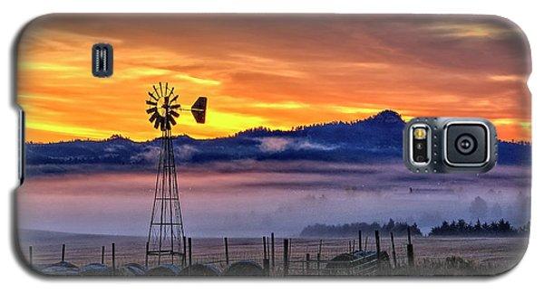 Foggy Spearfish Sunrise Galaxy S5 Case