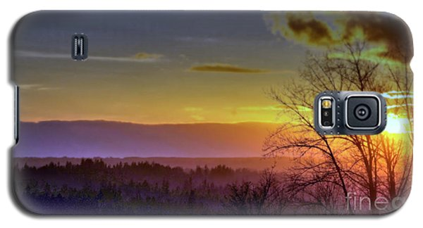 Foggy Sunset Galaxy S5 Case