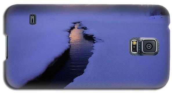 Foggy Winter Days In Banff Galaxy S5 Case