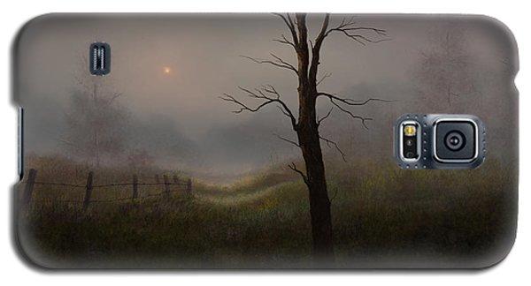 Foggy Woods Galaxy S5 Case by Sena Wilson