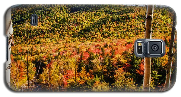 Foliage View From Crawford Notch Road Galaxy S5 Case by Jeff Folger