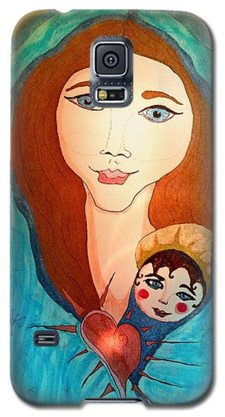 Folk Mother And Child Galaxy S5 Case