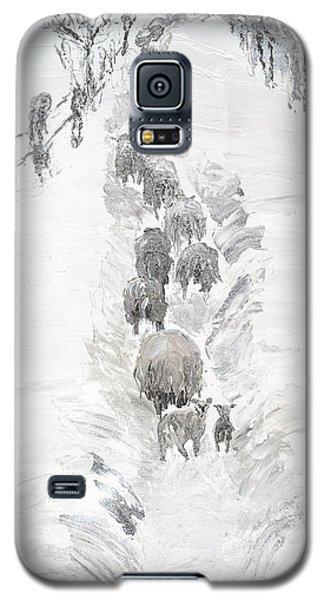 Follow The Flock Galaxy S5 Case