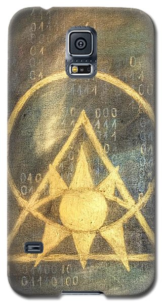 Follow The Light - Illuminati And Binary Galaxy S5 Case