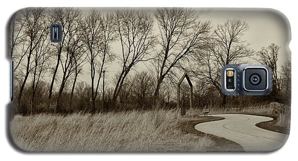 Galaxy S5 Case featuring the photograph Follow The Path by Elvira Butler