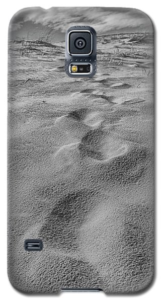 Galaxy S5 Case featuring the photograph Follow The Path In The Dunes by John McGraw
