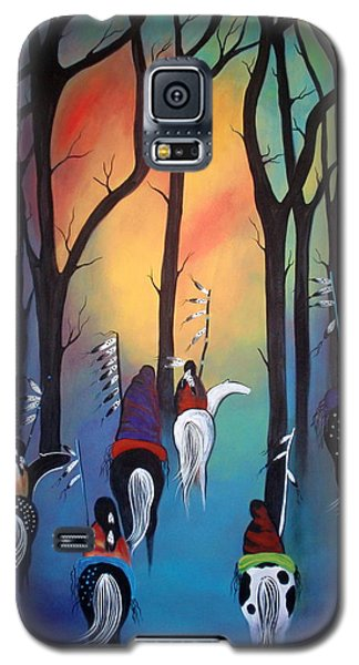 Following The Trail Of The Ancestors Galaxy S5 Case