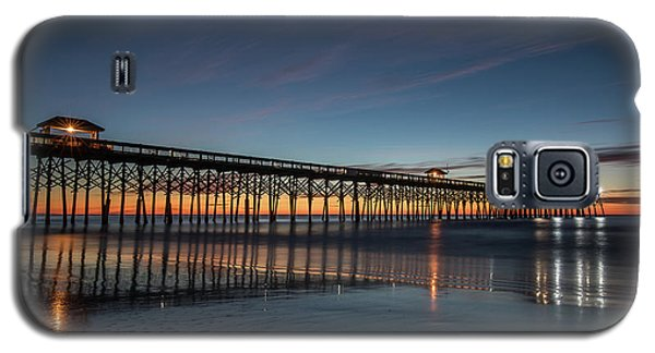 Folly Beach Pier Before Sunrise Galaxy S5 Case