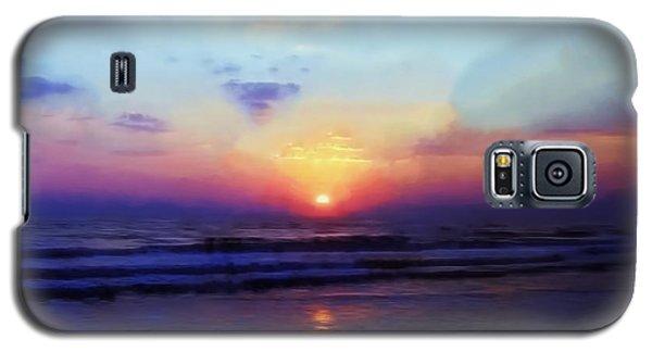 Folly Beach South Carolina Sunrise Galaxy S5 Case