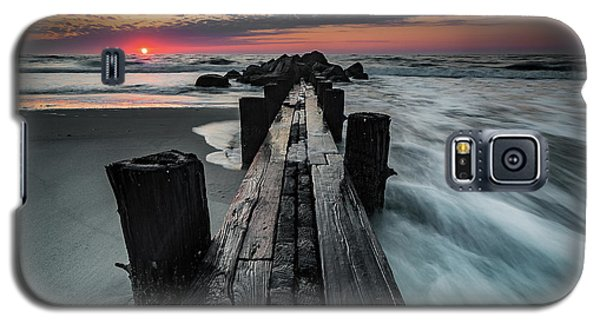 Folly Beach Tale Of Two Sides Galaxy S5 Case