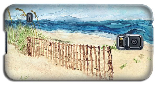 Folly Field Fence Galaxy S5 Case