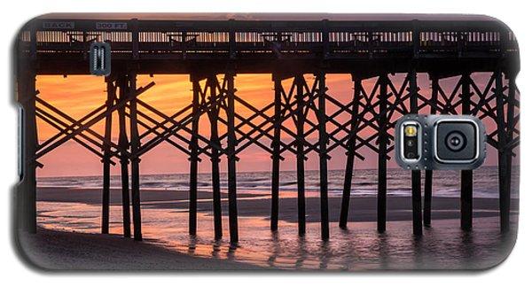 Folly Pier At Sunrise Galaxy S5 Case