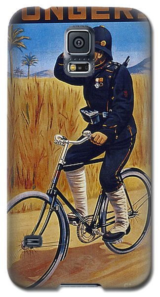 Fongers In Gebruik Bil Nederlandsche En Nederlndsch Indische Leger Vintage Cycle Poster Galaxy S5 Case by R Muirhead Art