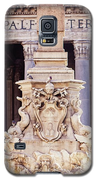 Galaxy S5 Case featuring the photograph Fontana Del Pantheon - Pantheon Fountain II by Melanie Alexandra Price