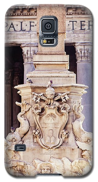 Fontana Del Pantheon - Pantheon Fountain II Galaxy S5 Case by Melanie Alexandra Price
