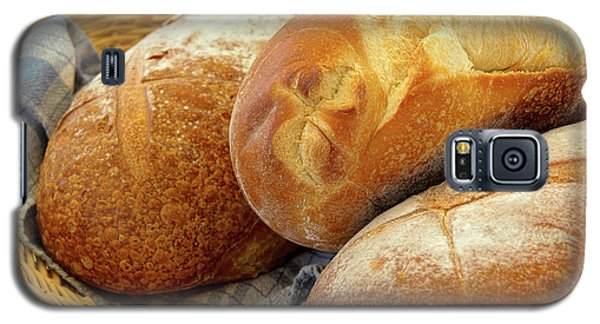 Galaxy S5 Case featuring the photograph Food - Bread - Just Loafing Around by Mike Savad