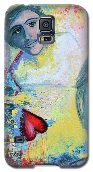 Foolish Love Galaxy S5 Case by Donna Blackhall