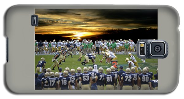 Football Field-notre Dame-navy Galaxy S5 Case