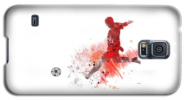 Football Player Galaxy S5 Case