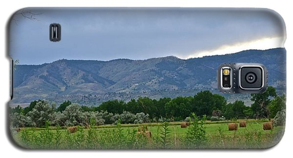Foothills Of Fort Collins Galaxy S5 Case