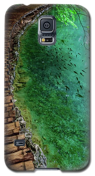 Footpaths And Fish - Plitvice Lakes National Park, Croatia Galaxy S5 Case