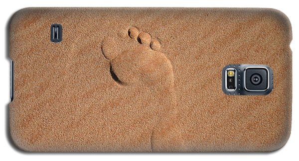 Footprint In The Sand Galaxy S5 Case