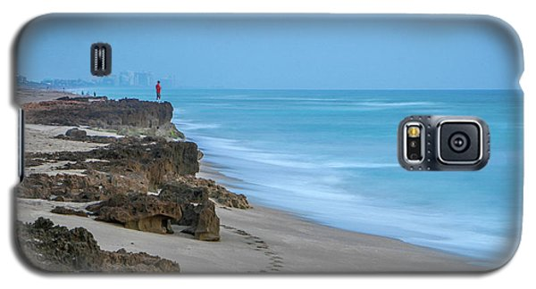 Footprints And Rocks Galaxy S5 Case