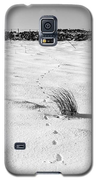 Footprints In The Snow I Galaxy S5 Case