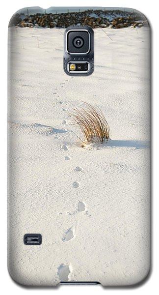 Footprints In The Snow II Galaxy S5 Case