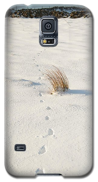 Footprints In The Snow II Galaxy S5 Case