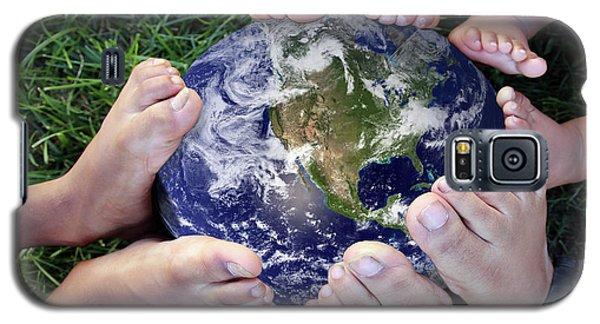 Footprints Galaxy S5 Case