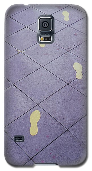 Footsteps On The Street Galaxy S5 Case