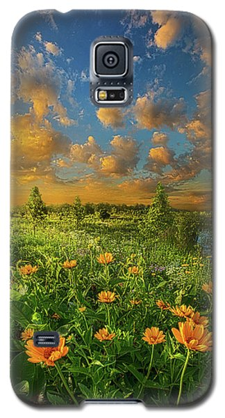 For A Moment All The World Was Right Galaxy S5 Case