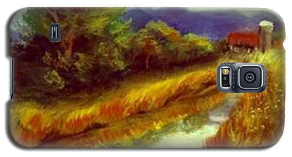 Galaxy S5 Case featuring the painting For A Thirsty Land by Gail Kirtz