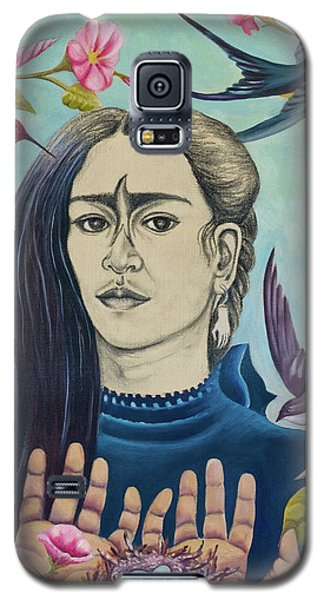 Galaxy S5 Case featuring the painting For Frida by Sheri Howe