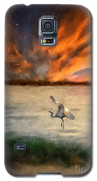 For Just This One Moment Galaxy S5 Case by Lois Bryan