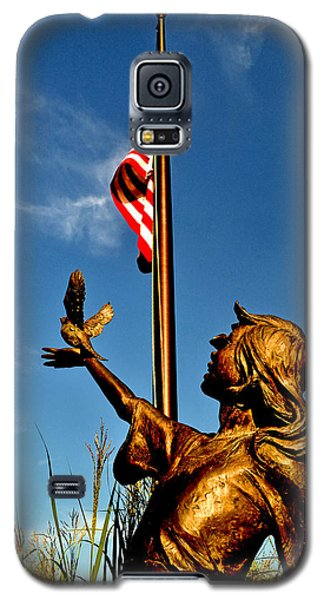 Galaxy S5 Case featuring the photograph For Our Fallen by George Bostian
