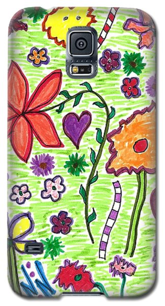For The Love Of Flowers Galaxy S5 Case