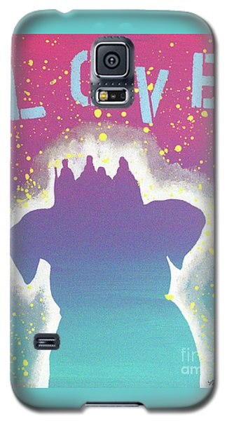 Galaxy S5 Case featuring the painting For The Love Of Pups by Melissa Goodrich