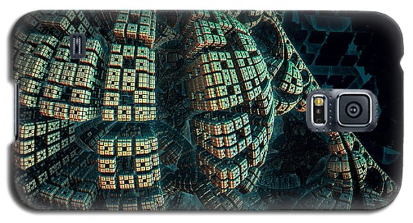 Forbidden Planet Galaxy S5 Case by Melissa Messick