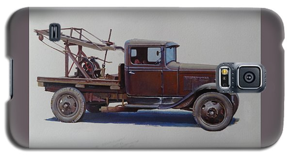 Ford A Type Wrecker. Galaxy S5 Case by Mike  Jeffries