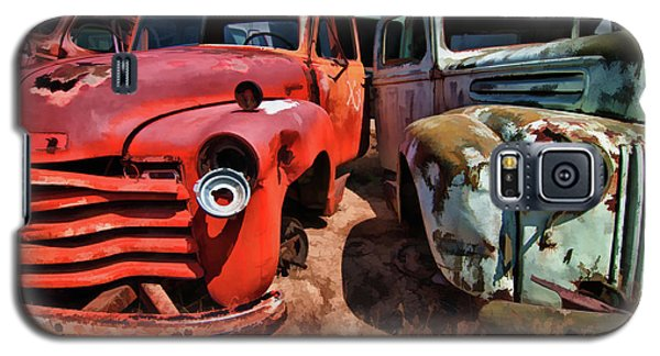 Ford And Chevy Standoff Galaxy S5 Case