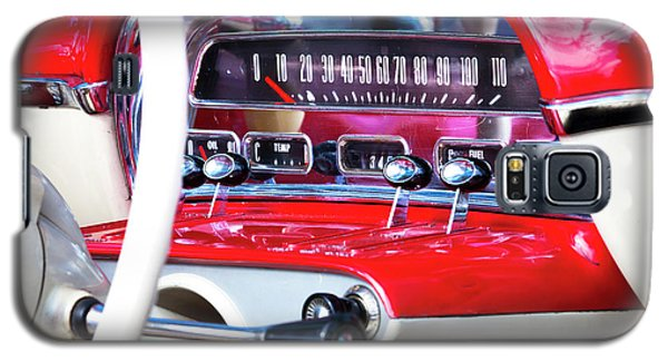 Galaxy S5 Case featuring the photograph Ford Dash by Chris Dutton