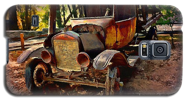 Ford Flatbed Truck Galaxy S5 Case by Glenn McCarthy Art and Photography